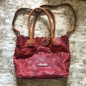 Pikolinos leather handbag